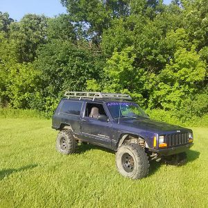 Jeep Xj - Roof Rack - Evoultion