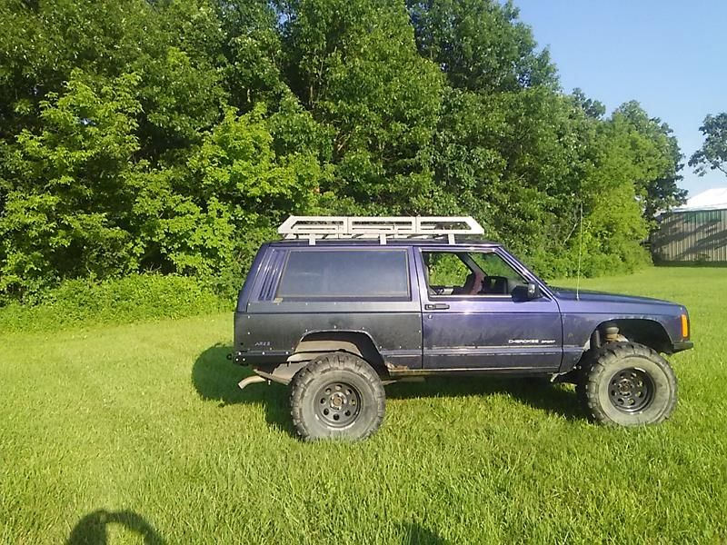 Jeep Xj - Roof Rack - Evoultion