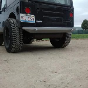 Rer Evolution Bumper on TJ Wrangler