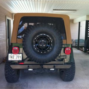 Wrangler/CJ Nostalgia Tire Carrier