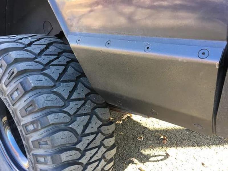 XJ Quarter Panel Armor Lower