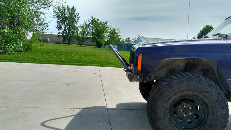 XJ Modular Stubby Stinger Bumper