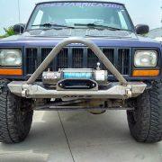 XJ Modular Stubby Stinger Winch Bumper