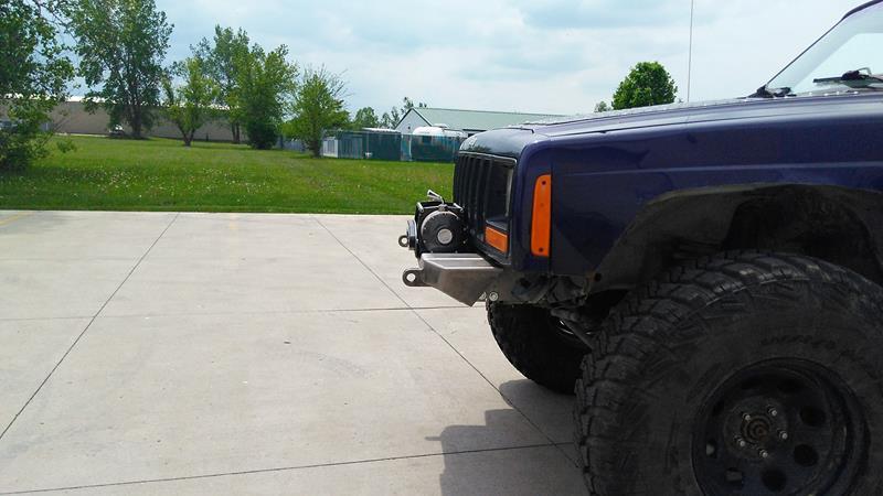 XJ Modular Stubby Winch Bumper