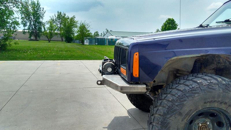 XJ Modular Winch Bumper