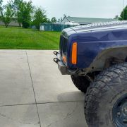 XJ Modular Stubby Bumper with mini wings