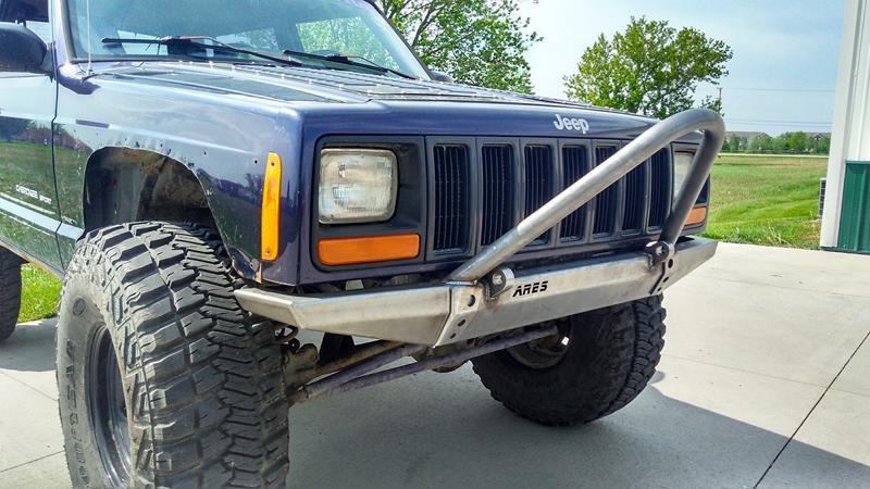 XJ Modular Full Width Stinger Bumper