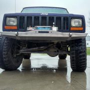 DIY XJ Winch Bumper