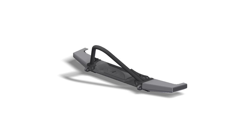 XJ Modular Winch Stinger Bumper