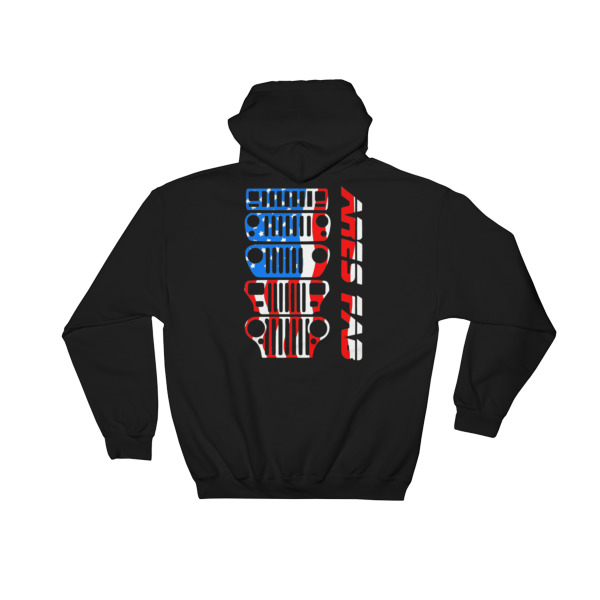 Ares Fab Grill Hooded Sweatshirt